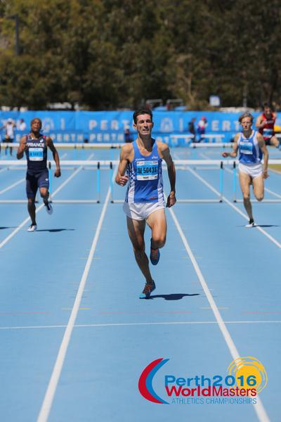 Frederic Peroni-Ranchet 400m haies champion du monde