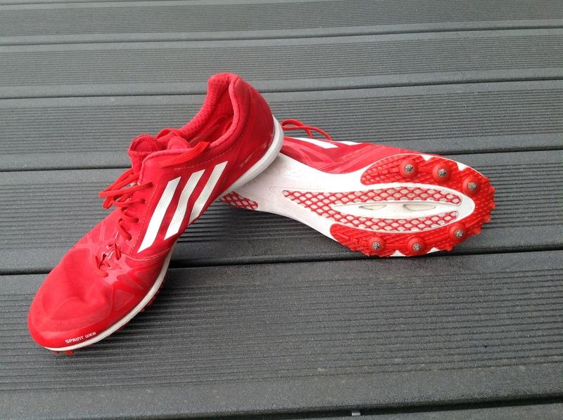 pointes Adidas adizero rouge pour sprint